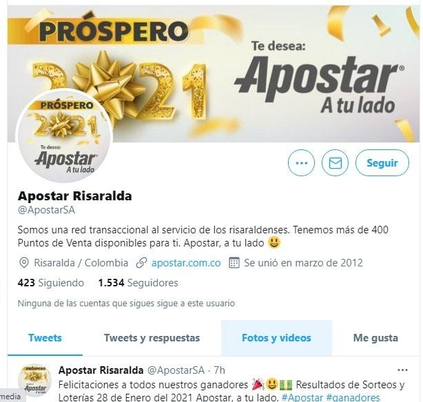 Apostar Wn Twitter