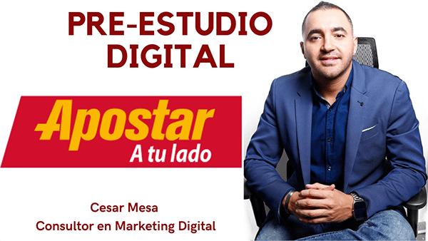 Pre Estudio Digital Apostar Cesar Mesa Experto En Marketing Digital
