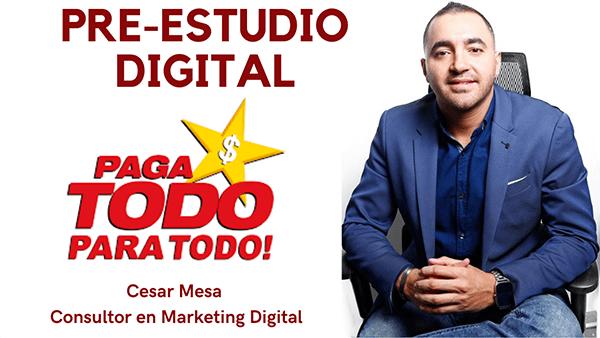 Pre Estudio Digital Pagatodo Cesar Mesa Experto En Marketing Digital