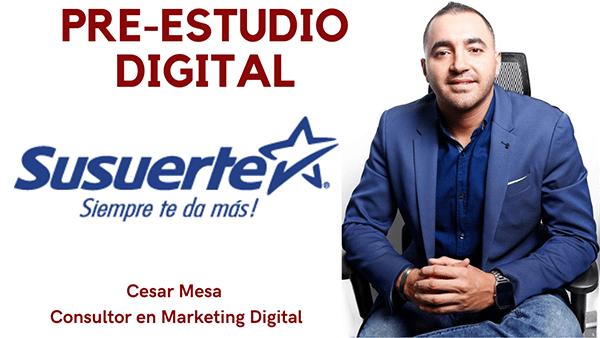 Pre Estudio Digital Susuerte Cesar Mesa Experto En Marketing Digital